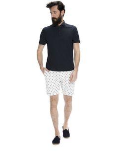 Polohemd mit Hemdkragen | Polohemden | Herrenbekleidung von Scotch & Soda