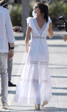 Pretty Outfits, Beautiful Outfits, Baby Girl Dress Patterns, Royal Dresses, Girls Dresses, Summer Dresses, Queen Letizia, Classy And Fabulous, Royal Fashion