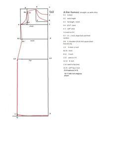 kameez pattern important Pattern Drafting Tutorials, Sewing Tutorials, Sewing Projects, Sewing Art, Dress Sewing Patterns, Pattern Cutting, Pattern Making, Couture, Kurta Patterns