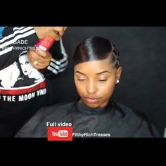 Discover recipes, home ideas, style inspiration and other ideas to try. Cute Natural Hairstyles, Sleek Hairstyles, Black Girls Hairstyles, Ponytail Hairstyles, Weave Hairstyles, Pretty Hairstyles, Weave Ponytail, Ponytail Styles, Sleek Ponytail