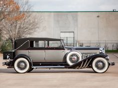 1929 Duesenberg Model-J 103-2127 Convertible Berline LWB LeBaron