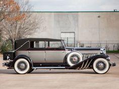 1929 Duesenberg Model-J 103-2127 Convertible Berline LWB LeBaron