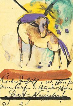 Horse, 1914, Franz Marc
