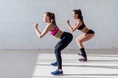 5 min corde à sauter ; 30 squat ; tout les 2 jours pendant 30 min
