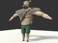 This I issued after I saw Rambo. How I came to the idea, Rambo-Sheep, I don't know. :D #cg #3d #visualization #render #modelling #creature