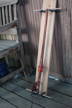 Inexpensive homemade board for narrow band weaving. DSC_0012 | Flickr - Photo Sharing!