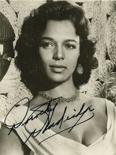After finishing the filming of Island in the Sun, it became apparent what Dorothy Dandridge's cinematic problem would be. A black male stars such as Harry Belafonte and Sidney Poitier could become big stars without doing romantic roles, but Dorothy Dandridge was too beautiful and too sexy to be cast in anything but romantic leads. While she was a romantic star in European made films, the American public wasn't ready for a black woman in those type of roles.