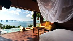 Thailand: Six Senses Yao Noi: Those looking for bay views should book an Ocean Panorama Pool Villa.