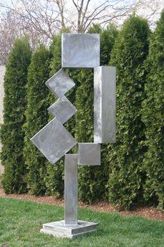 "David Smith's ""Cubi XII"" at the Hirshhorn Museum Sculpture Garden, Washington, DC by Peter Michel, via Flickr"