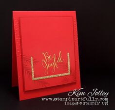 Stampin Artfully: Real Red & Cherry Cobbler Mix and Huge Sale Ends Today