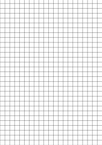 Papier quadrillé en pdf pour la classe