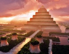 Os Jardins Suspensos da Babilônia. | Pena Pensante - Literatura | História | Cultura