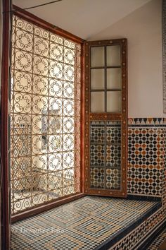 Islamic Sights and Patterns in Marrakech