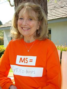 Actress & Academy Award Nominee Teri Garr lives with Multiple Sclerosis.