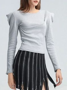 #Fall2021collection #Falloutfits #Fallcollection #FallWear #Autumnwear #fashionintrend #womenfashion #Expressyourself #autumncollection #auntumndress $102.00 $54.54 Pinterest Fashion, Fashion Group, Knitted Tank Top, Fashion Colours, Classy Outfits, Wholesale Clothing, Types Of Sleeves, Casual Wear, Long Sleeve