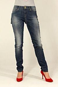 Spodnie Damskie Jeansy TOMMY HILFIGER milan blue velvet