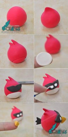 Modelage Angry birds