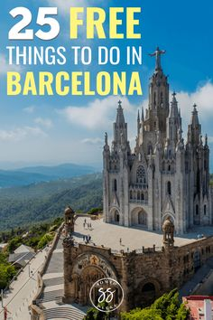 Planning to travel to Barcelona, Spain this fall or in Here are 25 free things to do in Barcelona, from the Picasso Museum to Bunkers del Carmel to the parks. These are the top free activities in Barcelona that many tourists don't even know about! Europe Travel Tips, European Travel, Travel Advice, Travel Guides, Travel Destinations, European Plan, Peru Travel, Travel Info, Travel Goals