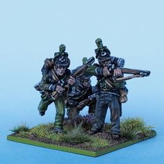 95th Rifles painted from Tobias Kirchner (Perry Miniatures)