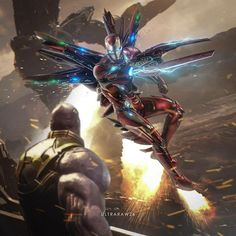 Some fan art I found of Iron Man vs Thanos. I loved this fight so much, it showed us what Tony was really capable of : marvelstudios Marvel Dc Comics, Marvel Avengers, Iron Man Avengers, Marvel Fan, Marvel Heroes, Iron Man Wallpaper, Iron Man Kunst, Iron Man Fan Art, Die Rächer