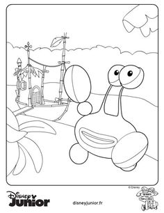 jungle junction coloring pages - Jungle Junction Coloring Pages