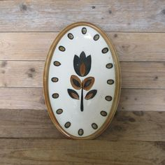 vintage 60s serving dish oval plate KIMONO by BOCH by MaisonW