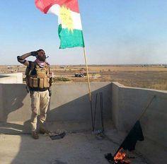 Peshmerga fighters