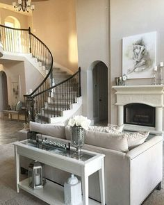 remodel home before and after My Living Room, Home And Living, Living Room Decor, Living Spaces, Dream House Interior, Home Interior Design, Relax, Fashion Room, Living Room Inspiration