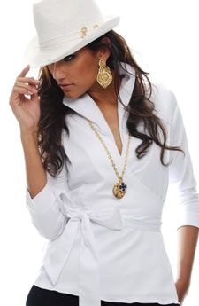 Love white and hats