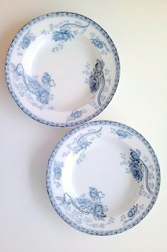 Blue antique porcelain