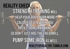 One of my favorites <3 I see 70% of the people at the gym doing cardio rather than coming to the other side of the gym and lifting some weights. You will be surprised how much better results you will get when you step off that treadmill!