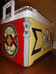 Ooh perfect for a Sigma Nu formal cooler!