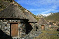 Ancient celtic houses