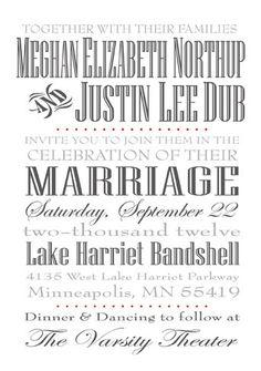 Printable Design  Wedding Invitation by KADdesignsforlove
