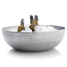 Luau Beverage Tub in Serving Bowls   Crate and Barrel
