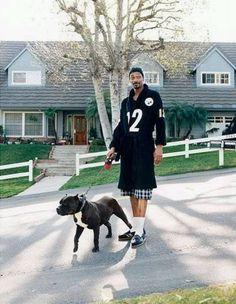 Snoop Dog with his dog. Biddy Craft My new man crush monday lol