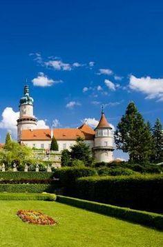 Ther castle of Nové Město nad Metují (East Bohemia), Czechia