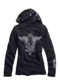 Harley-Davidson Hooded Long Sleeve