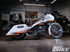 2011 Harley-Davidson Road Glide Custom   Fire And Ice   Hot Bike