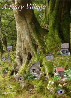 MINIATURE FAIRY GARDEN VILLAGES - Google Search