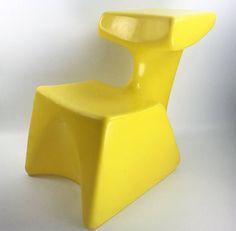 Zocker childrens multi-chair design by Luigi Colani Colani, Chair Design, Lighting Design, Mid-century Modern, Stool, My Etsy Shop, Mid Century, Space Age, Vintage Stuff