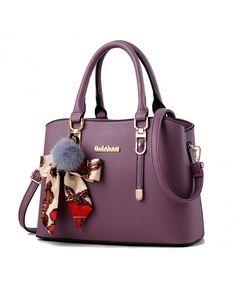 Buy Womens Purses and Handbags Shoulder Bag Large Tote Bag Top Handle Satchel - Violet - and More Fashion Bags at Affordable Prices. New Handbags, Burberry Handbags, Satchel Handbags, Purses And Handbags, Luxury Handbags, Cheap Handbags, Popular Handbags, Handbags Online, Fendi Purses