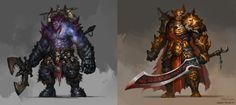 ArtStation - character concept, Hua Lu