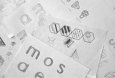 stromae, type & pattern by Bold, via Behance