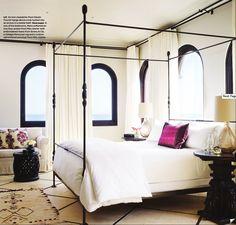 De slaapkamer glamour inrichten doe je met deze tips! - Makeover.nl