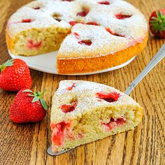 Let's Eat: Fast cup cake Tart Recipes, Sweet Recipes, Cooking Recipes, Czech Recipes, Italian Recipes, Strawberry Tart, Biscuit Cake, No Bake Pies, Healthy Treats