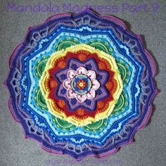 Pt 9 Mandala Madness photo tutorial by Crystals and Crochet aka Helen Shrimpton http://www.crystalsandcrochet.com/mandala-madness-part-9/