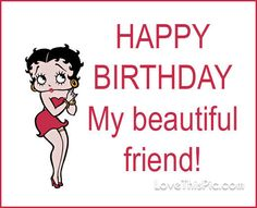 Happy Birthday Betty Boop QUote Pictures, Photos, and Images for ...