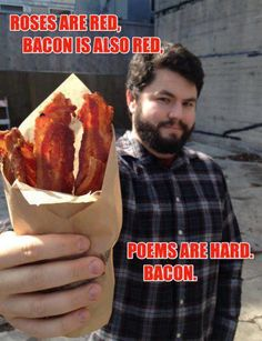 Bacon poetry