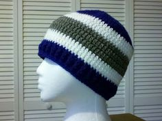 Basic Double Crochet Beanie Pattern....FREE